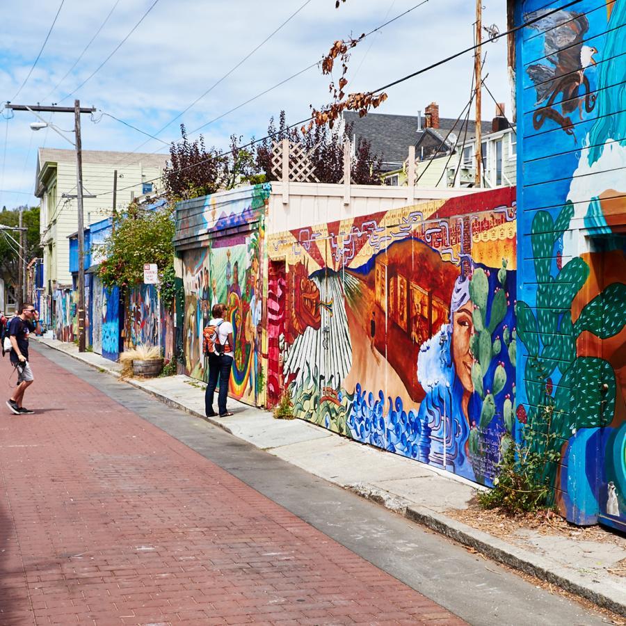 SF street mural
